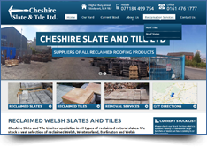 WordPress Website Design - Cheshire Slate and Tile