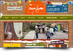 WordPress Website Design - The Soup Seller
